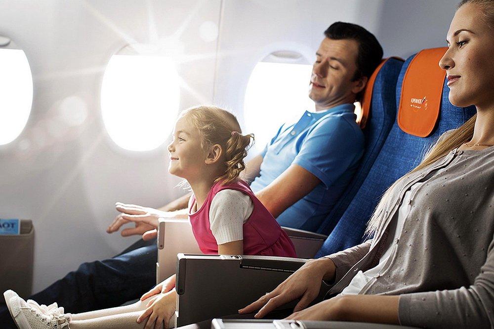 Правила перевозки детей авиакомпанией Победой